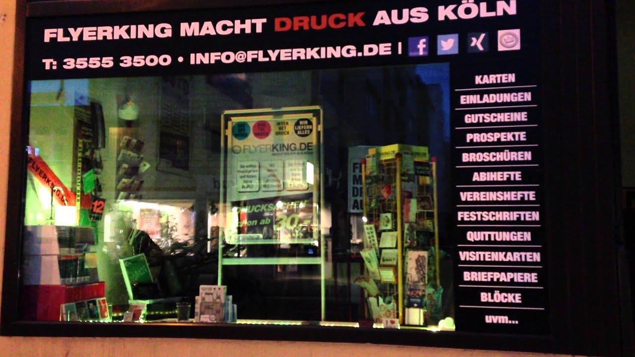 Flyerking Macht Druck Aus Köln Schaufenster Herbst Winter Neonfarben Dead Man S Hand