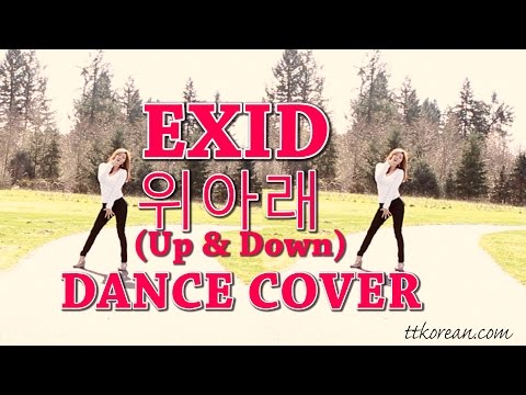 Learn Korean |EXID Up And Down 위아래| Dance Cover 2  By Han Na