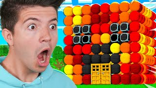 Building a Minecraft House BUT You Can't Use Blocks!