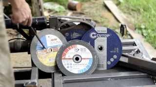 Универсальный самодельный станок для торцовки и усовки дерева и металла