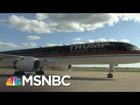 Trump Force One Vs. Air Force One | MSNBC