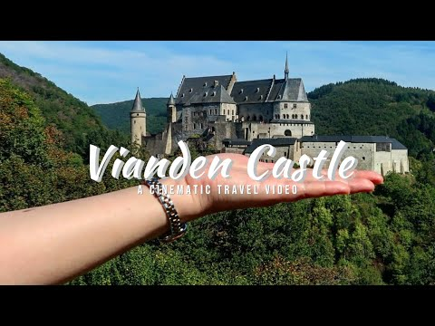 Closer into Vianden Castle | The BEST Reason to Visit LUXEMBOURG!