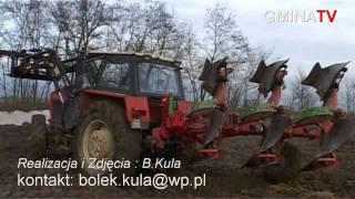 Prace polowe na wsi - kujawy okolice Mogilna