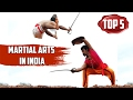 Top 5 - Ancient Indian Martial Arts | Independence day special