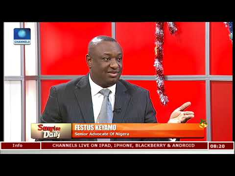 NNPC Not Telling Buhari,Nigerians The Truth,Keyamo Reveals Internal Intricacies |Sunrise Daily|