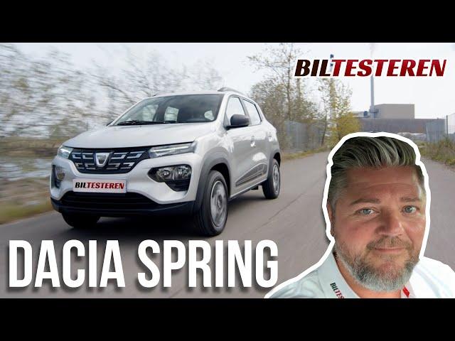 Discount på strøm! Dacia Spring - de første indtryk.