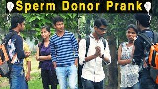 Sperm Donor Prank In India   FUNDAY PRANKS   Ft. Funky Tv