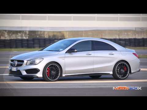 Mercedes CLA 45 AMG vs Porsche Cayman S