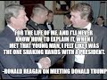 Trump Blows Himself By Spreading Fake News Of Reagan Supposedly Saying He Felt Like A President