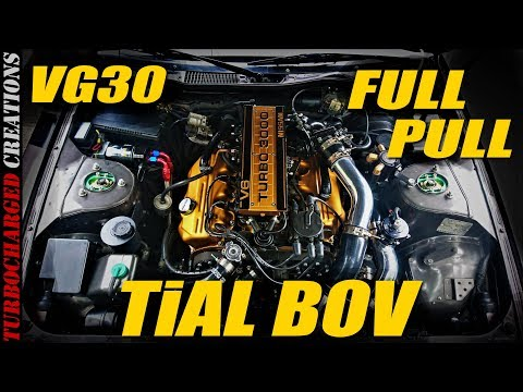 Z31 VG30 Nothing But Engine Sound And Pulls (TiAL BOV + Exhaust)