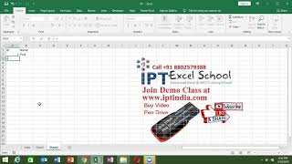 If Formulas in Hindi - Advance Excel Course