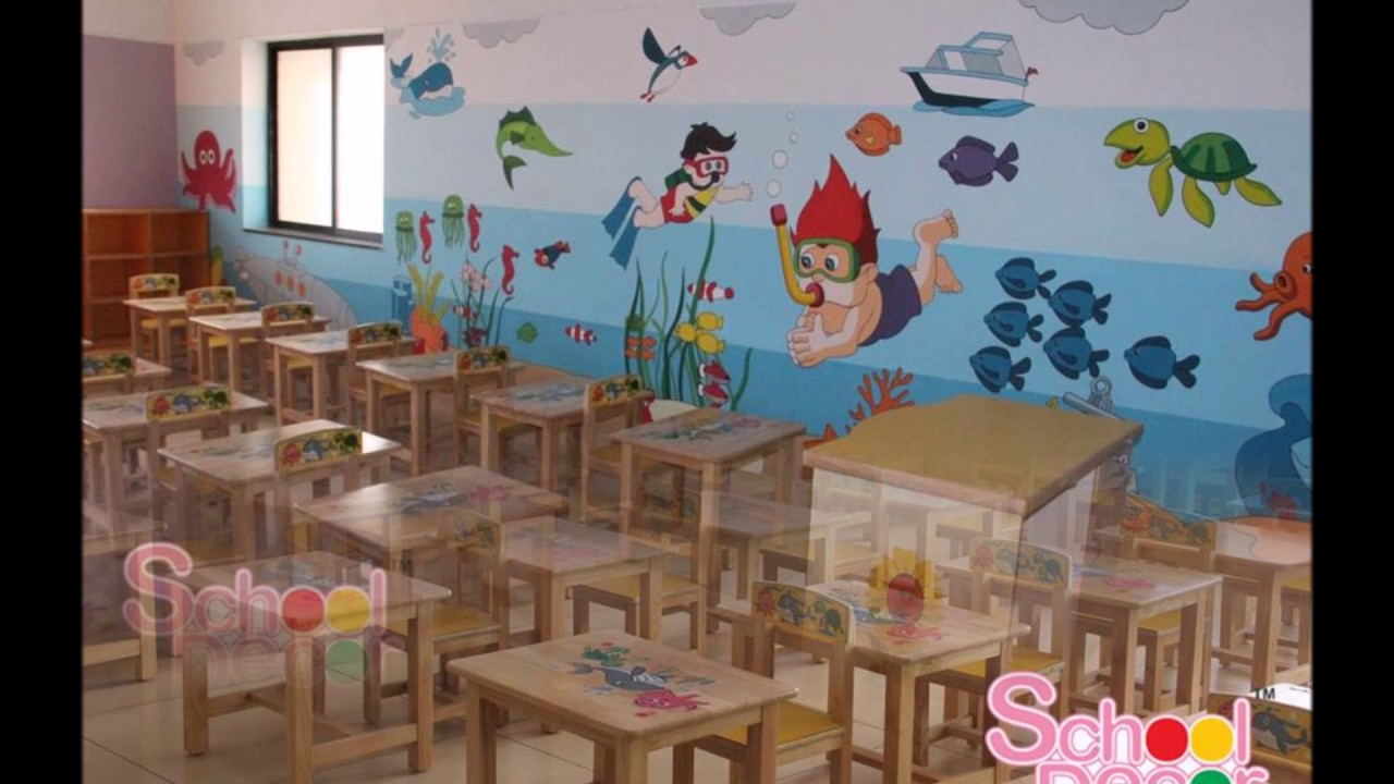 theme based kinder garden class room - Kinder Garden