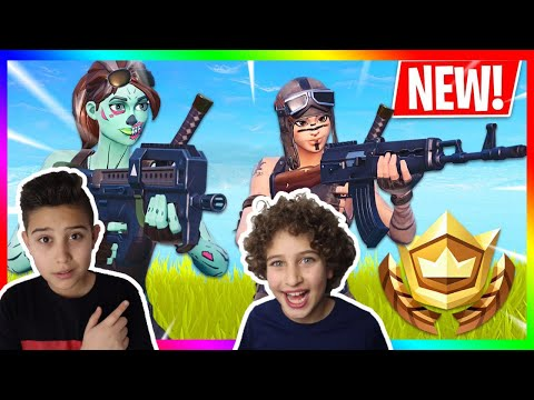 BESTE DUO RUNDE MIT KLEINEM BRUDER FORTNITE BATTLE ROYALE