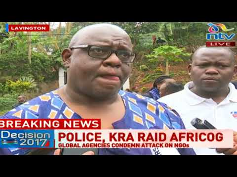 John Githongo terms KRA's raid at AfriCOG  'a waste of the very taxes that they should collect'