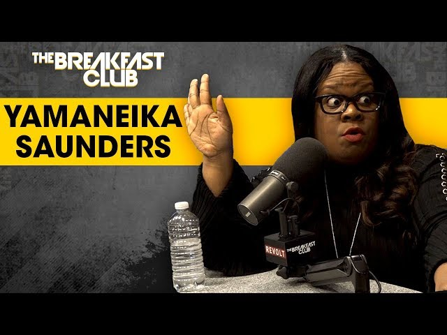 Yamaneika Saunders On Getting Boo'd At The Apollo, Her Raunchy Comedy Style, Therapy + More