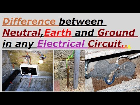 Difference between Neutral,Earth and Ground in any Electrical ...
