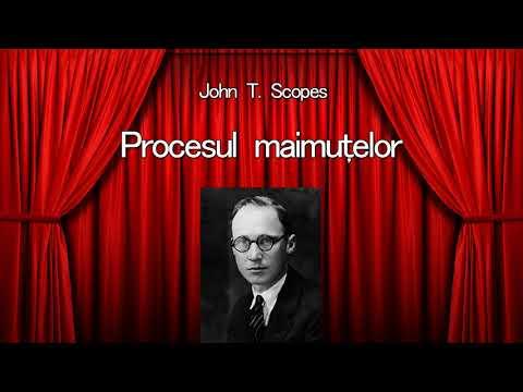 John T. Scopes - Procesul maimutelor