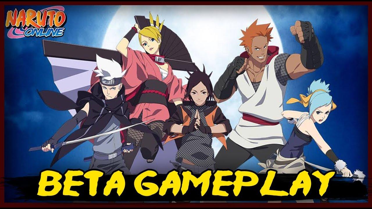 Naruto Online - Beta Gameplay - Jogo Gratís em Português ...