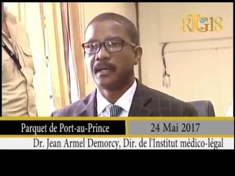 Mort de René Préval - Les résultats de l'autopsie