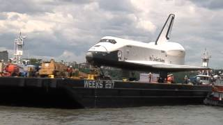 Space Shuttle Enterprise Journey to the Intrepid: EarthCam Official Time-Lapse Compilation