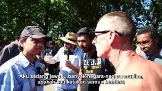 Must WATCH! - Apa Tujuan Hidupmu? - Mansur vs Atheist l Speakers Corner l Hyde Park