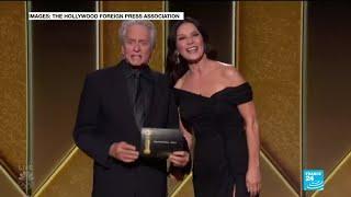 'Nomadland' makes Globes history, as virtual gala honors late Boseman