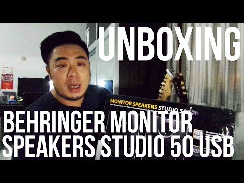 Behringer Monitor Speakers Studio 50 USB - UNBOXING (Bahasa Indonesia)