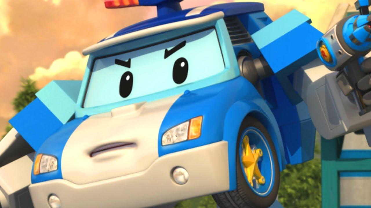 È Un Terremoto! Evita In Un Posto Sicuro! | Animazione per Bambini | Robocar POLI Italiano