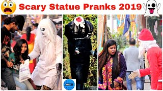 Epic Statue Pranks | Funniest Reactions Ever | Best Compilations 2019 | FunkyTv |