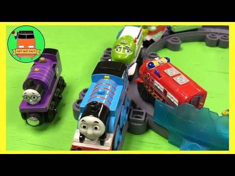 Chuggington Vs Thomas Stack Track Challenge - Toy Trains