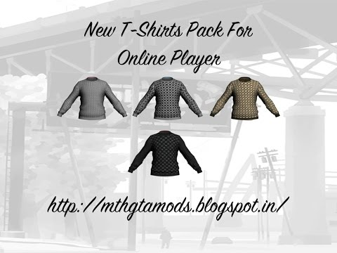 New T-Shirts (DLC ) For Online Player