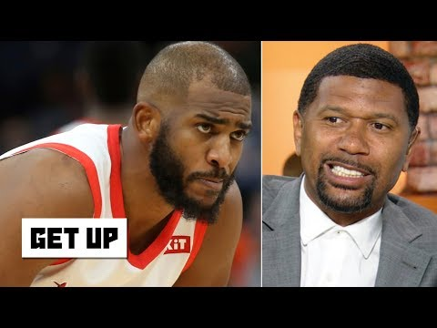 Chris Paul in a Thunder jersey is a 'disaster scenario' for OKC – Jalen Rose   Get Up