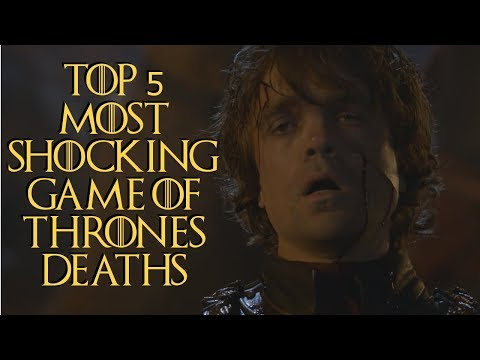 Top 5 Most SHOCKING Game of Thrones Deaths
