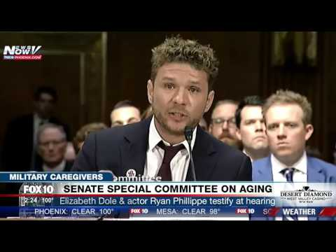 FNN: Ryan Phillippe Discusses Importance of Military Caregivers, Tells Own Family Story at Hearing