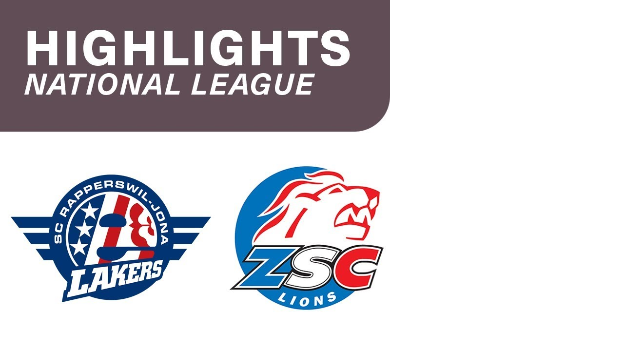 SCRJ Lakers - ZSC Lions 1:2 - Highlights National League