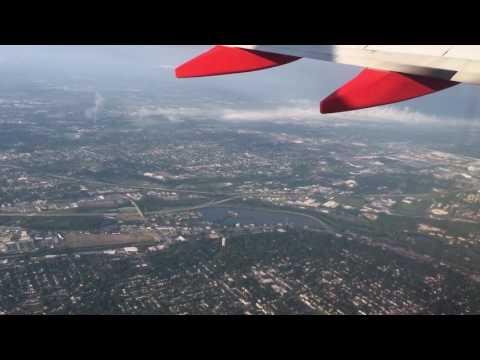 Takeoff from Columbus, Ohio