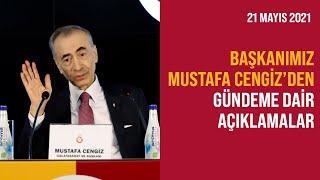 📺 🔴 Başkanımız Mustafa Cengiz'den gündeme dair açıklamalar