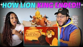 """Hishe """"How The Lion King Should Have Ended"""" REACTION!!!"""