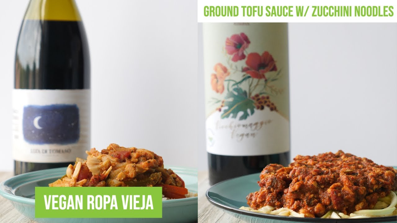 Simple Plant-Based Meals To Enjoy With Vegan Wine | Rican Vegan
