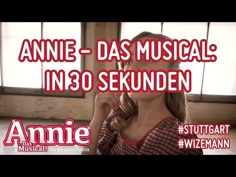 Annie - Das #musical #in30sekunden #stuttgart