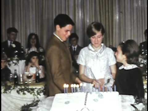 Tina's Bat Mitzvah 1964 World's Fair 1960 Atlantic City
