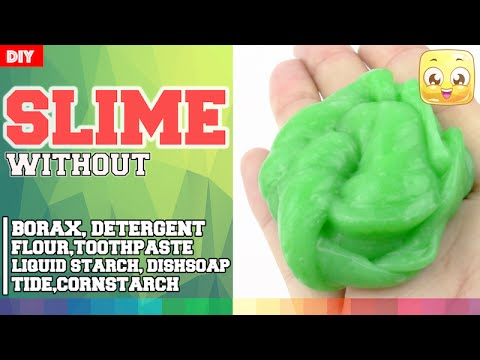 How to make slime with laundry detergent and flour howsto diy slime with eye drops without borax or liquid starch laundry how to make ccuart Images
