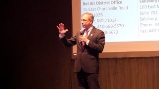 Highlights from Congressman Andy Harris' Town Hall Meeting