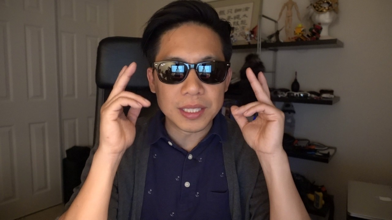 RayBan Clubmaster How it fits on my Asian face YouTube