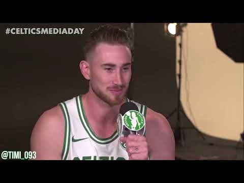 Gordon Hayward FULL Media Day Interview (09/25/2017)