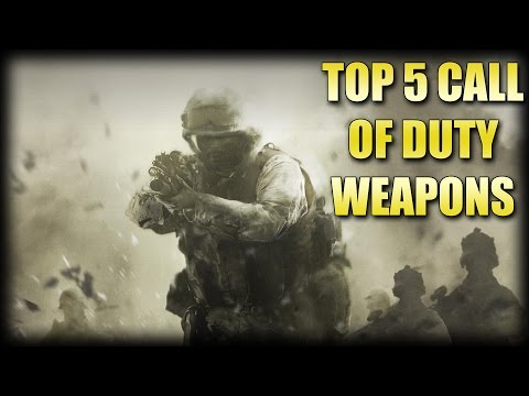 Blame Truth's Top 5 Call of Duty Weapons