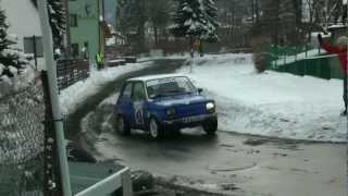 5 Rajdowa WOŚP w Makowie Podhalańskim 2013 - Marcin Śladowski/Bartek Tondryk- Fiat 126p