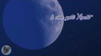 Ich hab grad an dich gedacht und wünsch dir eine gute Nacht