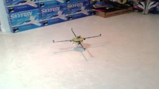 Single Motor variable pitch Quad Copter