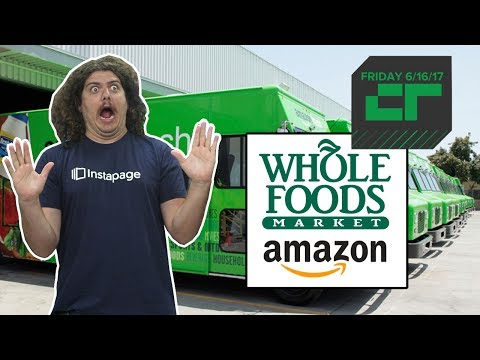 Amazon Bids to Buy Whole Foods for $13.7 Billion | Crunch Report